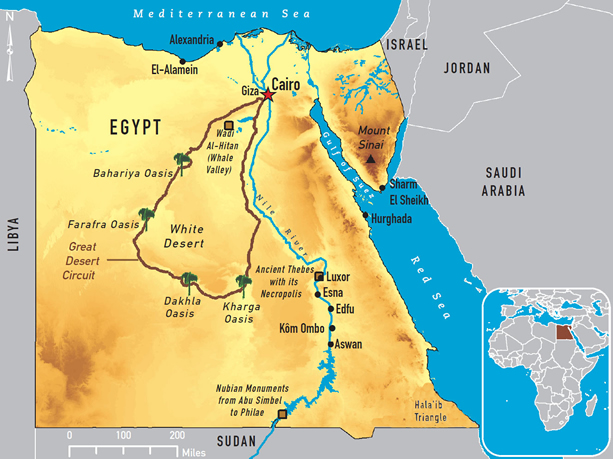 EgyptReservationcom Hotel Booking Egypt Hotels Package - Map of egypt hotels